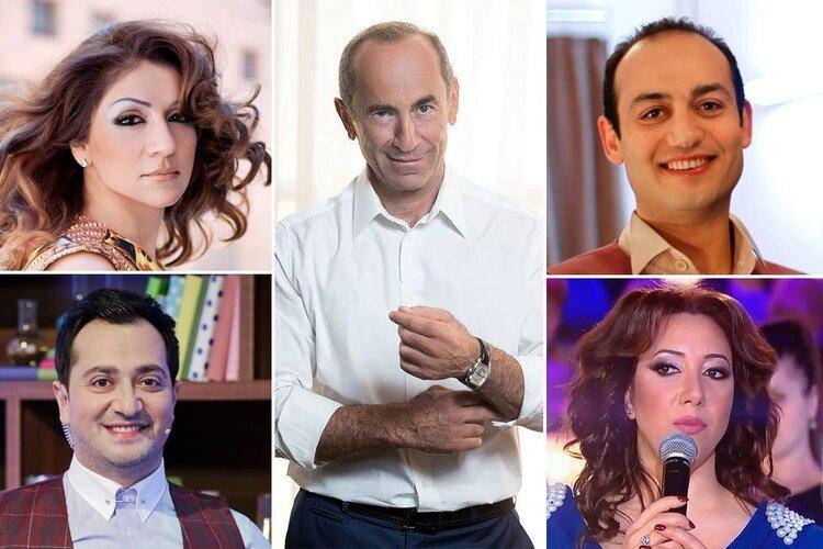 Представители армянской горе-интеллигенции подписали за свободу Кочаряна. В свое время такие же «интеллигенты» подписывались под смертной казнью Чаренца