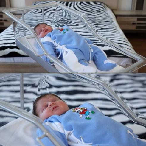 В Ереване родился малыш-богатырь весом в 5 кг 600 г, он шестой ребенок в семье. ФОТО