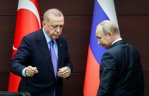 Капитуляция Путина перед Эрдоганом. ВИДЕО