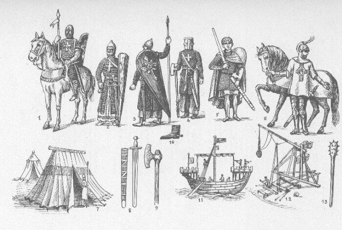 Великая армия древней Армении: рыцарство, командование, военно-морские силы…