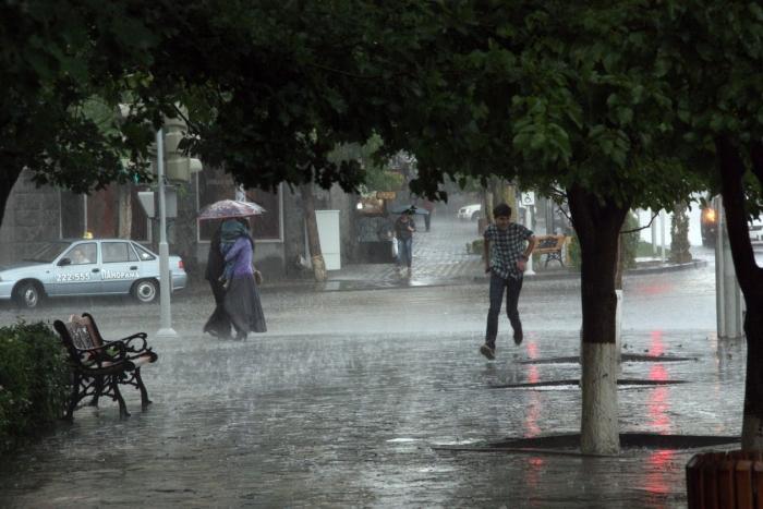 Дожди, дожди, дожди: июль в Армении будет прохладным