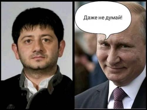 «Даже не думай!»: мем с реакцией Путина на возможное президентство Михаила Галустяна взорвал соцсети. ФОТО