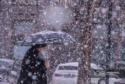 Метель, резкое понижение температуры воздуха: на территорию Армении проникнет холодный циклон, в Ереване ожидается до —16С