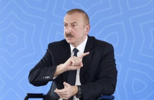 Наглая ложь Алиева. ВИДЕО