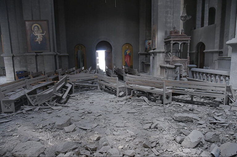 Եվրոպական հանձնաժողովը դատապարտում է Ադրբեջանի կողմից Սուրբ Ղազանչեցոց եկեղեցու ռմբակոծումը
