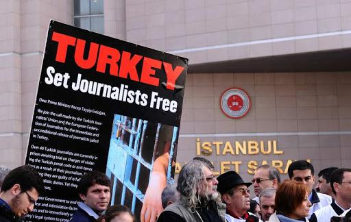 Թուրքիան «աշխարհում լրագրողների ամենախոշոր բանտապահն» է. Լրագրողների միջազգային ֆեդերացիա