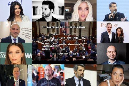 «Это день величайшей справедливости»: мировые знаменитости о признании Геноцида армян
