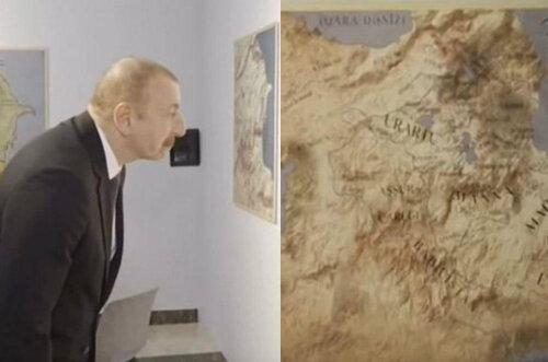 Маразм крепчает: карту отредактируют и повесят рядом с «глобусом Азербайджана»