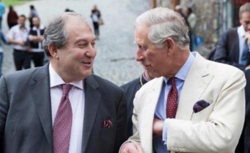 Как наш горе-президент Армен Саркисян продал Амулсар принцу-коммерсанту Чарльзу, а сейчас разыгрывает из себя святошу из англиканской церкви