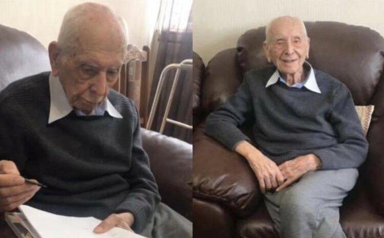 105-летний армянин из Италии пожелал стать гражданином Армении