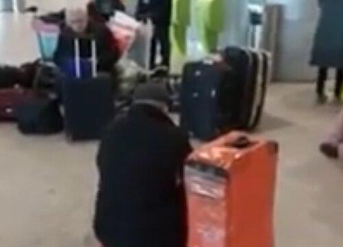 Граждане Армении, голодные и без денег, сидят в аэропорту «Домодедово» и не могут вернуться на родину: ждут помощи от посольства. ВИДЕО | ОБНОВЛЕНО