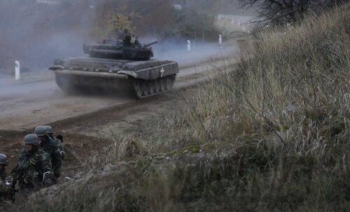 Азербайджанские беспилотники наконец нейтрализованы. Бои под Шуши. Эксклюзивные кадры.