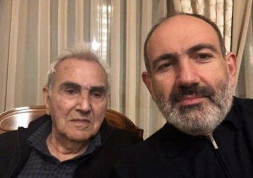 Скончался отец Никола Пашиняна Вова Пашинян