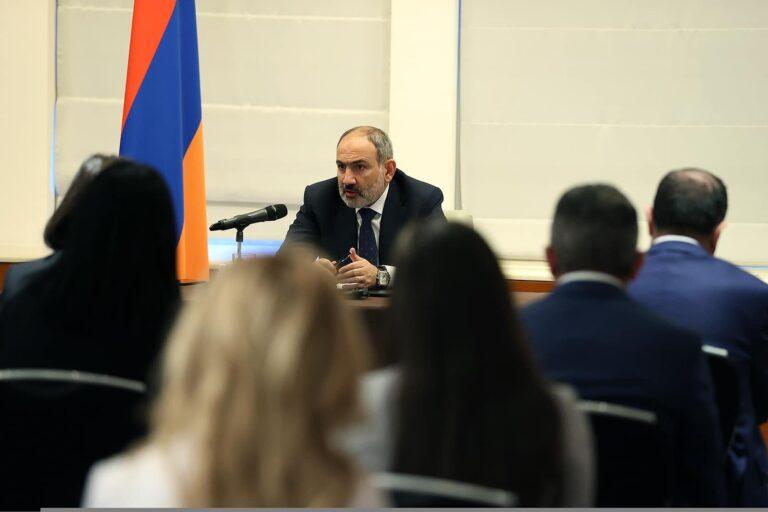 Նիկոլ Փաշինյանը Մոսկվայում հանդիպել է «Հայ իրավաբանների ասոցիացայի» մի քանի տասնյակ անդամների հետ