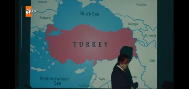 Թուրքական սերիալում ցուցադրված քարտեզում Արցախը և Ադրբեջանը ներկայացվել են որպես Հայաստան․Անկարայում և Բաքվում վրդովված են
