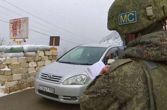 Բերձորի միջանցքը հսկում է ռուսական խաղաղապահ զորախմբի ռազմական ոստիկանությունը