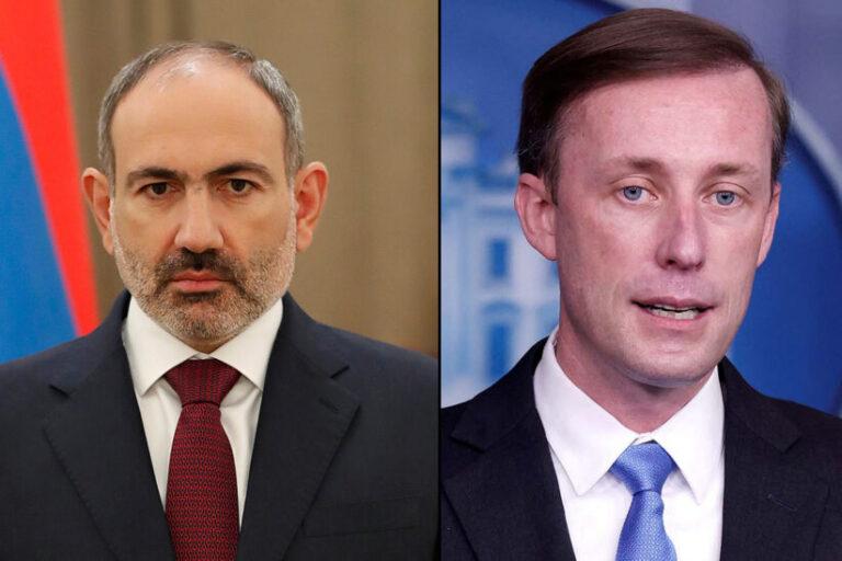 ԱՄՆ-ը սադրիչ է համարում ադրբեջանական ուժերի գործողությունները․Բայդենի խորհրդականը զրուցել է Փաշինյանի և Ալիևի հետ