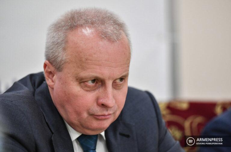 Ռուսաստանն ակտիվ ջանքեր է գործադրում Սյունիքի իրավիճակի հանգուցալուծման համար. դեսպան