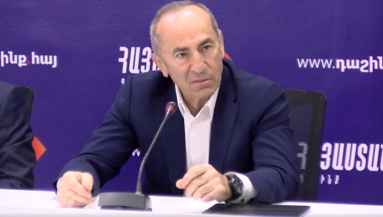 Блок «Армения» будет радикальной оппозицией в парламенте: Роберт Кочарян