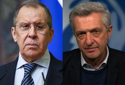 Лавров и комиссар ООН обсудили проблемы возвращения беженцев и перемещенных лиц в Арцах