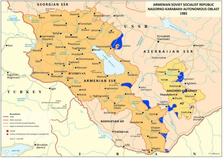 Была ли справедливой ленинская национальная политика при создании Армянской ССР?