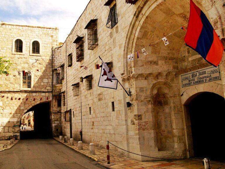 ААЦ обвинили в сдаче земель армянского квартала Иерусалима «израильскому оккупационному муниципалитету»