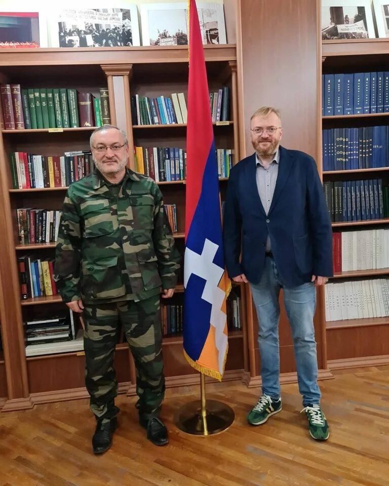 Депутат Госдумы Милонов призвал Лаврова обратить внимание на военные преступления Азербайджана