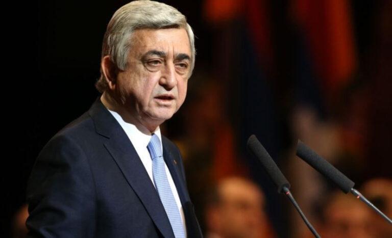«Где ты был в первой войне, пока азербайджанцы умирали?»: Серж Саргсян ответил Алиеву